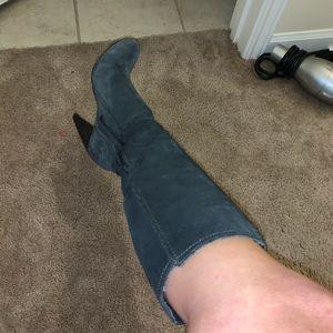 Jessica Simpson Gray Boots 6.5